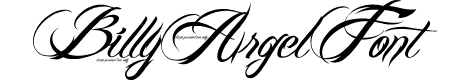 Preview image for BILLY ARGEL FONT