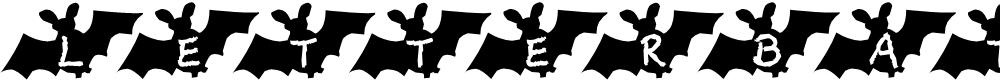 Preview image for LetterBat AH Font