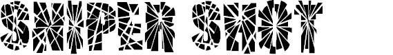 Preview image for SNIPER SHOT Font
