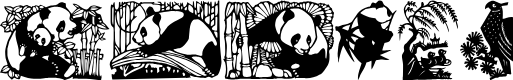 Preview image for Panda Font