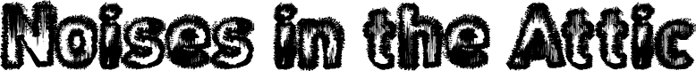 Preview image for Noises in the Attic Font