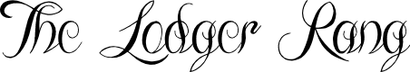 Preview image for The Lodger Rang Font