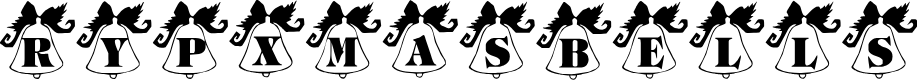 Preview image for ryp_xmasbells Font