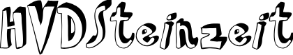 Preview image for HVDSteinzeit Font