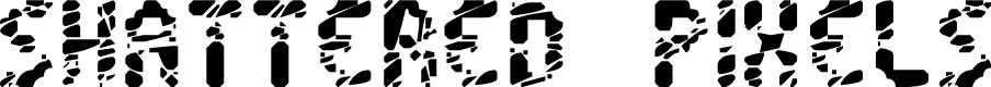 Preview image for Shattered Pixels Font