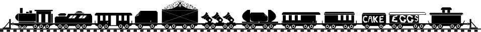 TREIN font