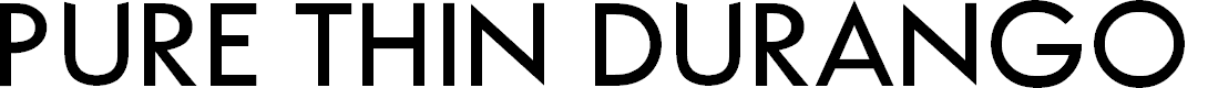 Preview image for Pure Thin DuranGo Font