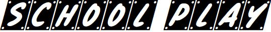 School Play Italic