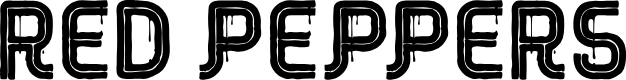 Preview image for RED Peppers Font