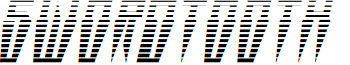 Swordtooth Gradient Italic