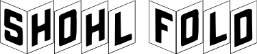 Preview image for ShohlFold Font