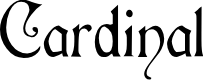 Preview image for Cardinal Regular Font