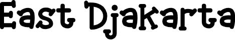 Preview image for East Djakarta Font