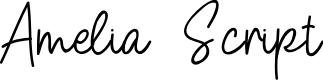 Preview image for Amelia Script Font