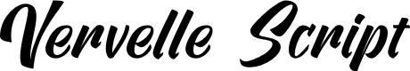 Preview image for Vervelle Script Font