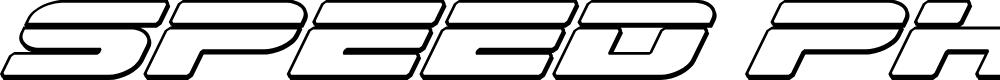 Preview image for Speed Phreak Outline Italic