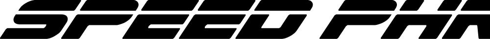 Preview image for Speed Phreak Condensed Super-Italic