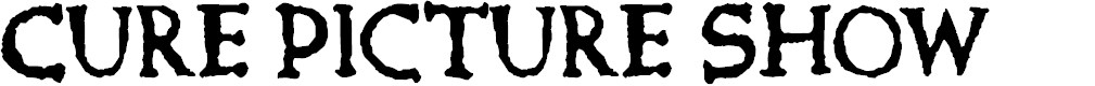 Preview image for Cure- Picture Show Font