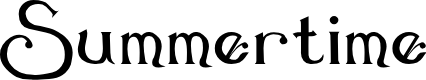 Preview image for Summertime Font