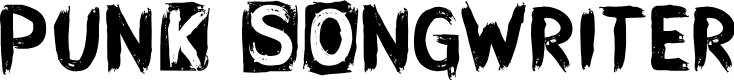 Preview image for CF Punk Songwriter Rough PERSO Regular Font