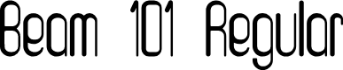 Preview image for Beam 101 Regular Font