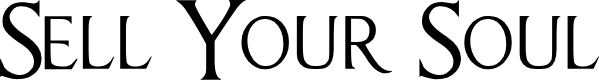 Preview image for Sell Your Soul Font