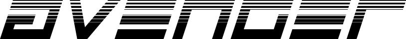 Preview image for Avenger Haltone Italic