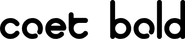 Preview image for coet bold Font