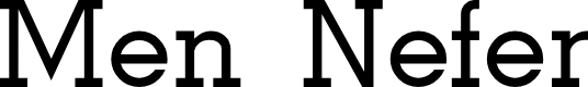Preview image for Men Nefer Font