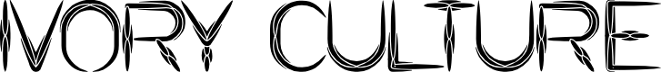 Preview image for IVORY CULTURE Font