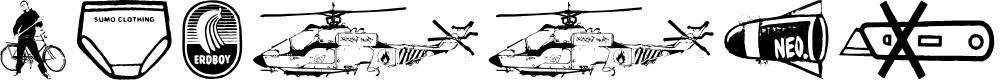 Preview image for PlakkenWalls Font