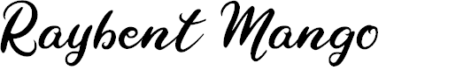 Preview image for Raybent Mango Font