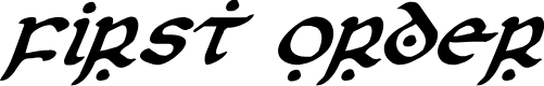 Preview image for First Order Italic