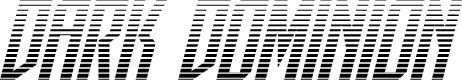 Preview image for Dark Dominion Gradient Italic