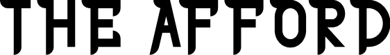 Preview image for THE AFFORD Font