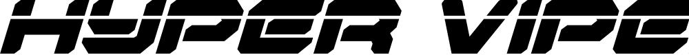Preview image for Hyper Viper Laser Italic