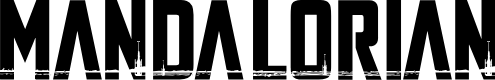 Preview image for The Mandalorian Font