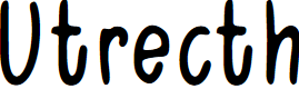 Preview image for Utrecth Font