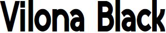 Vilona Black font