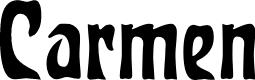 Preview image for Carmen Regular Font