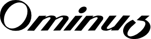 Preview image for Ominus Font