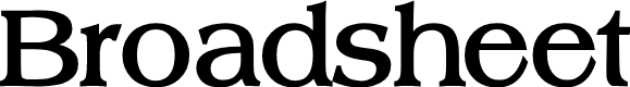 Preview image for Broadsheet LDO Bold