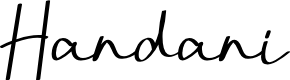 Preview image for Handani Font