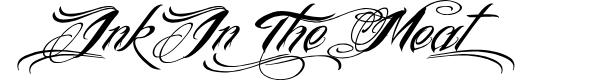 Preview image for InkInTheMeat-Tial Font