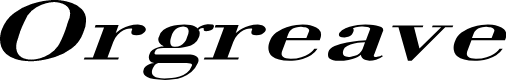 Preview image for Orgreave Extended Italic