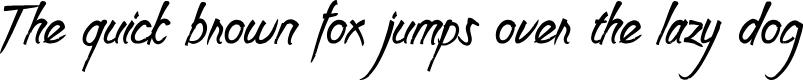 Preview image for Clarraph Script Personal Use Regular Font