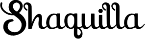 Preview image for Shaquilla Free Version Font