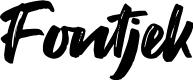 Preview image for Fontjek Font