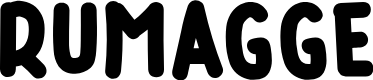 Preview image for RUMAGGE Font