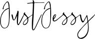 Preview image for JustJessy Font